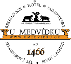 Hotel U Medvidku - logo