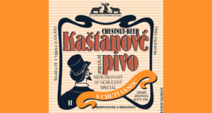 Kaštanové pivo  - nefiltrovaný, 18°speciál s chutí vánoc Obsah alhoholu: 6,6%