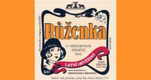 Růženka - nefiltrované, 11° pšeničné pivo, vhodné k letnímu osvěžení Obsah alhoholu: 3,9%