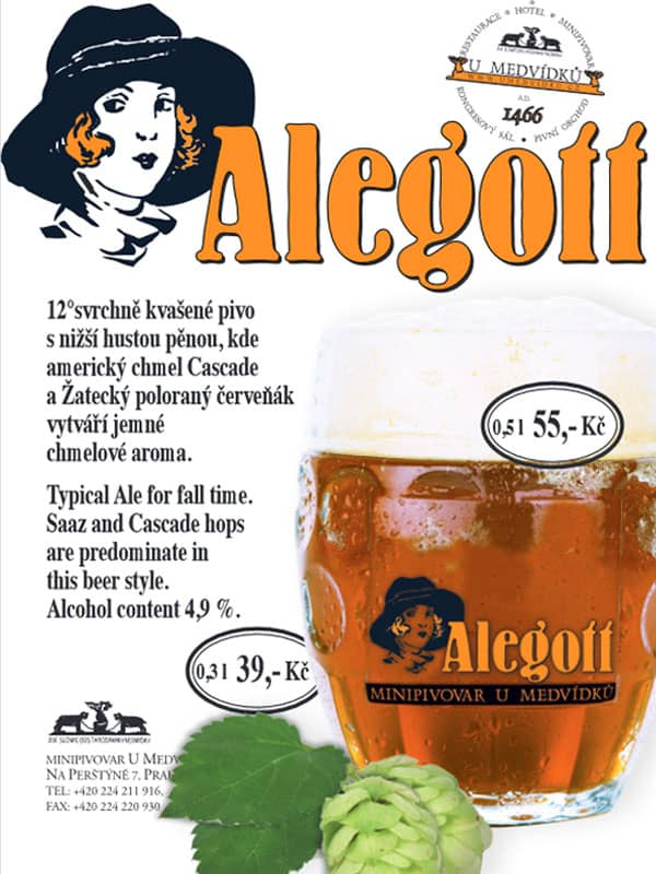 Alegott - U Medvídků