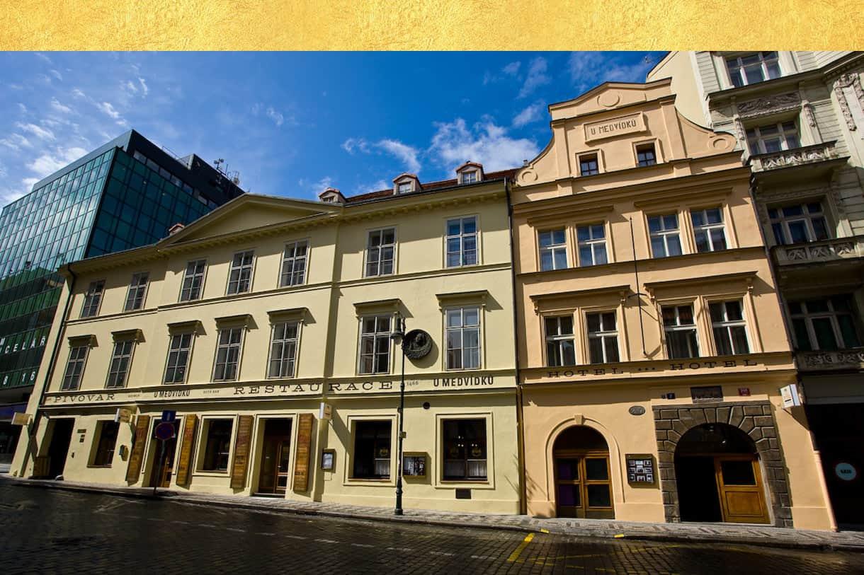 Restaurant, hotel, brewery U Medvidku - Prag