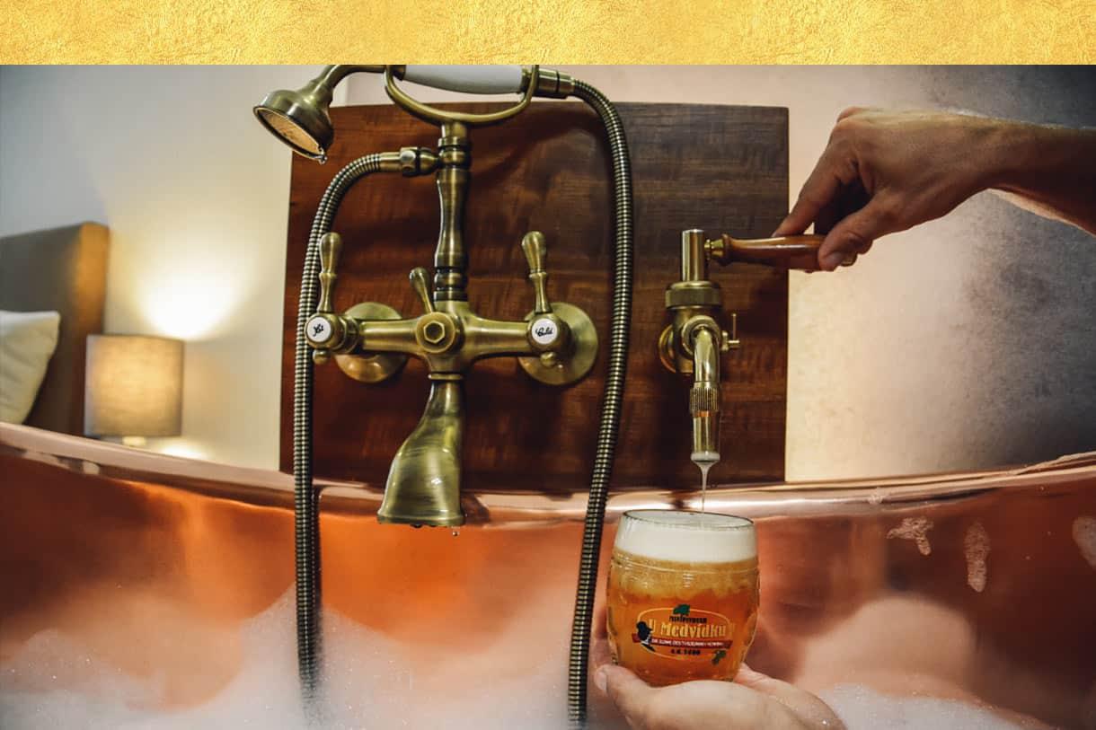 Beer room Hotel U Medvidku - Prag, Czech Republic
