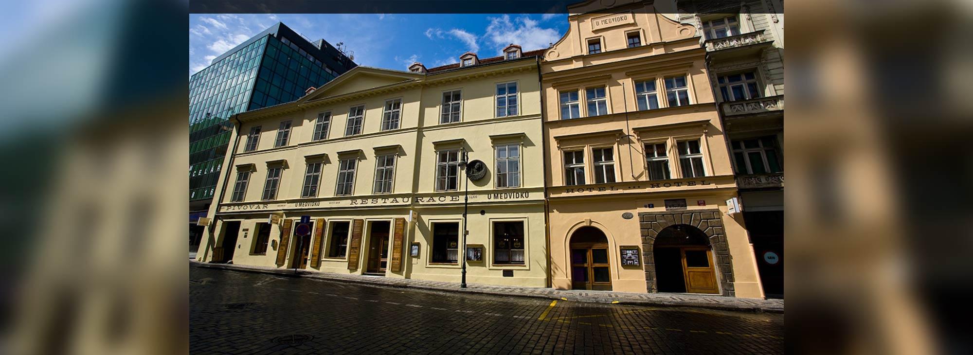 Restaurant, hotel, brewery U Medvidku - Prag, Czech Republic